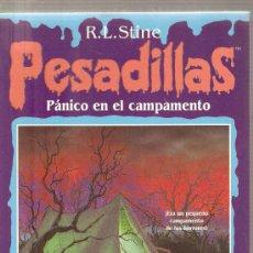 Libros de segunda mano: PESADILLAS - PANICO EN EL CAMPAMENTO . Lote 27689944