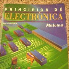 Libros de segunda mano: PRINCIPIOS DE ELECTRONICA, POR ALBERT P. MALVINO - MCGRAW-HILL- ESPAÑA /1991 - PRECIO . Lote 27701824