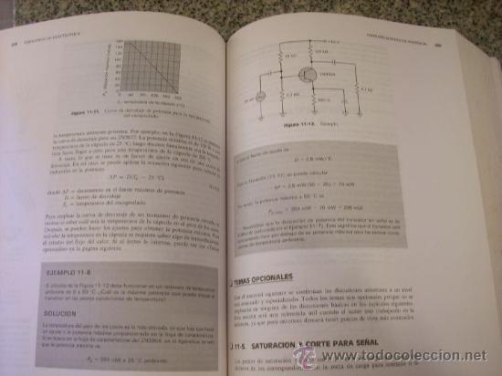 Libros de segunda mano: PRINCIPIOS DE ELECTRONICA, por Albert P. Malvino - MCGRAW-HILL- España /1991 - PRECIO - Foto 3 - 27701824