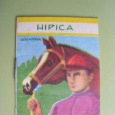 Libros de segunda mano: CELEBRIDADES HUMANAS Nº 127 (6ª SERIE Nº 7). HIPICA. 1961. ED ROMA. Lote 27745444