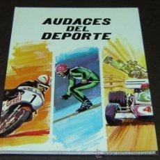Libros de segunda mano: AUDACES DEL DEPORTE-PLAZA&JANÉS EDITORES 1972. Lote 27718477