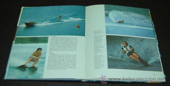 Libros de segunda mano: DEPORTES ACUATICOS-Plaza&Janés Editores 1973 - Foto 2 - 27718459