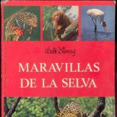 Libros de segunda mano: MARAVILLAS DE LA SELVA - WALT DISNEY, EDICIONES GAISA, BASADO EN LAS SERIES FILMICAS DE WALT DISNEY . Lote 27749052