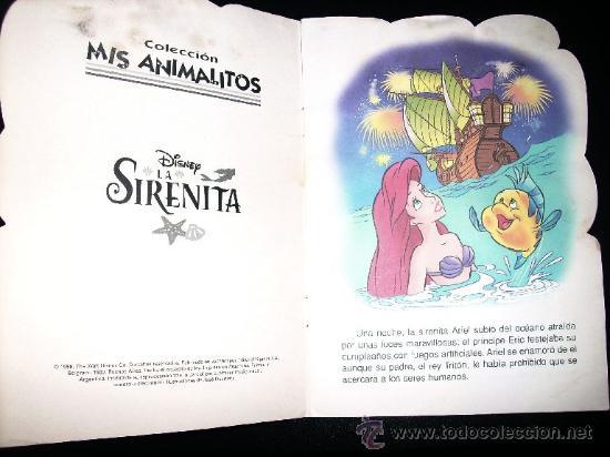 Libros de segunda mano: LA SIRENITA - COLECCION MIS ANIMALITOS - SIGMAR - Argentina - 1998 - Foto 2 - 27772109