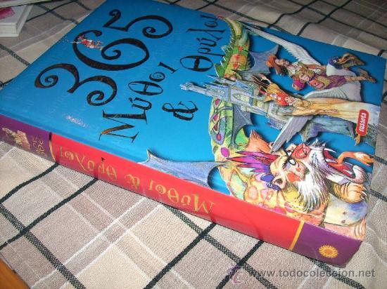 Libros de segunda mano: 365 MITOS Y LEYENDAS - SUSAETA - LIBRO GRIEGO ILUSTRADO - IMPERDIBLE!! NUEVO!! - Foto 2 - 147096661