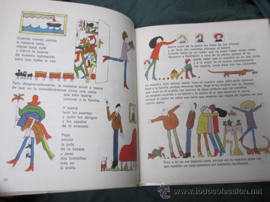 Libros de segunda mano: SIEMPRE ME OCURRE ALGO - EVA JANIKOVSKY , DIBUJOS DE LASZLO REBER -EDI DAIMON 1977 - Foto 2 - 245469010