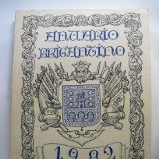 Libros de segunda mano: 1982 ANUARIO BRIGANTINO HOMENAJE A DON ANTONIO VALES VILLAMARIN. Lote 27839016