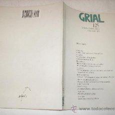 Libros de segunda mano: GRIAL 125.XANEIRO,FEBREIRO,MARZO 1995 GALAXIA,1995 AB36565.. Lote 27839185