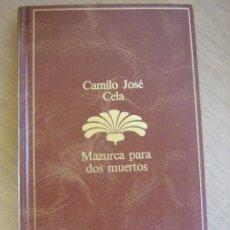 Libros de segunda mano: CAMILO JOSÉ CELA MAZURCA PARA DOS MUERTOS PLANETA. Lote 27849817