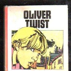 Libros de segunda mano: OLIVER TWIST POR CHARLES DICKENS - BRUGUERA. Lote 27939603