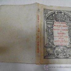 Libros de segunda mano: ACCIÓN SOCIAL Y PROTECCIÓN LABORAL DE LA IGLESIA Y ESPAÑA EN AMÉRICA, 1492-1892. 1958 RM34719. Lote 27942698