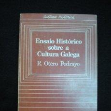Libros de segunda mano: LIBRO. GALICIA. ENSAIO HISTÓRICO SOBRE A CULTURA GALEGA. VIGO, 1982.. Lote 27968584