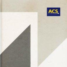 Libros de segunda mano: ACS PROYECTOS, OBRAS Y CONSTRUCIONES - AÑOS 2000 - GRAN FORMATO - TAPA DURA - VER FOTOS . Lote 28179165