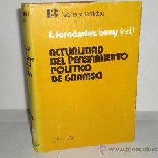 Libros de segunda mano: ACTUALIDAD DEL PENSAMIENTO POLITICO DE GRAMSCI. Lote 28223380