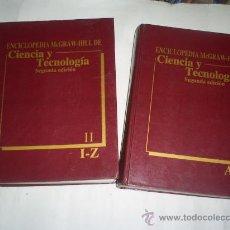 Libros de segunda mano: ENCICLOPEDIA MCGRAW-HILL DE CIENCIA Y TECNOLOGÍA 2 TOMOS SYBIL P. PARKER (EDIT.) RM53030. Lote 28366414