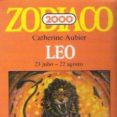 Libros de segunda mano: ZODIACO 2000, LEO, DE 1982. Lote 28286863