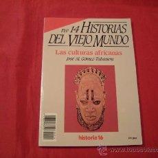 Libros de segunda mano: LAS CULTURAS AFRICANAS. JOSE M. GOMEZ TABANERA. ANTROPOLOGIA. Lote 28335832