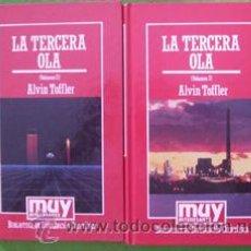 Libros de segunda mano: LA TERCERA OLA (I Y II). ALVIN TOFFLER. Lote 28348228