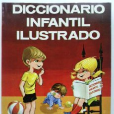 Libros de segunda mano: DICCIONARIO INFANTIL ILUSTRADO . EDICIONES MENSAJERO . BILBAO . 1977. Lote 216398158