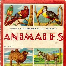 Libros de segunda mano: COLECCION CURIOSIDADES DE LOS ANIMALES - ANIMALES LIBRO Nº 1 - ED.FHER. Lote 28393875