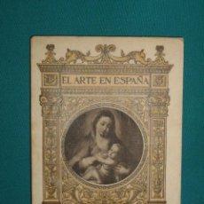 Libros de segunda mano: EL ARTE EN ESPAÑA - MUSEO DE BELLAS ARTES - CADIZ -. Lote 28405493