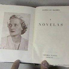 Libros de segunda mano: NOVELAS TOMO I (AUTOR: DAPHNE DE MAURIER) . Lote 28468355