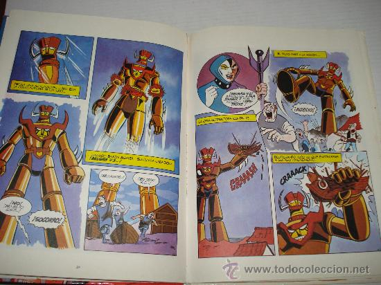 Libros de segunda mano: MAZINGER Z . Afrodita A Capturada Nº 3 de Ediciones Junior . Año 1978. - Foto 2 - 28437964