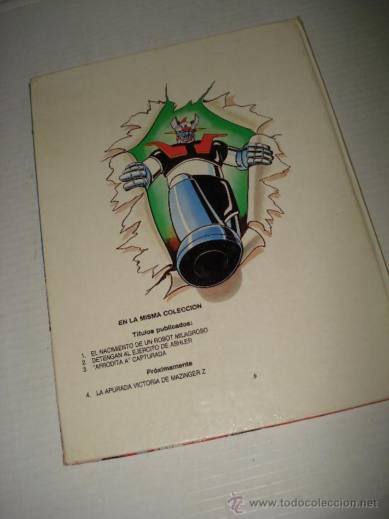 Libros de segunda mano: MAZINGER Z . Afrodita A Capturada Nº 3 de Ediciones Junior . Año 1978. - Foto 3 - 28437964
