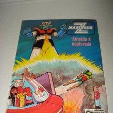 Libros de segunda mano: MAZINGER Z . AFRODITA A CAPTURADA Nº 3 DE EDICIONES JUNIOR . AÑO 1978.. Lote 28437964