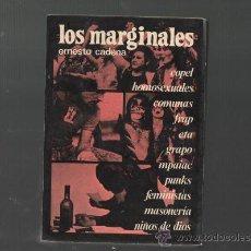 Libros de segunda mano: ERNESTO CADENA LOS MARGINALES EDICIONES ACERVO BARCELONA 1978. Lote 28399850