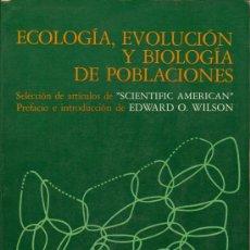 Ecología, evolución y biología de poblaciones