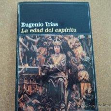 Libros de segunda mano: LA EDAD DEL ESPIRITU. Lote 28516279
