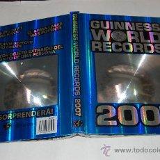 Libros de segunda mano: GUINNESS WORLD RECORDS 2007. RM52238. Lote 28540430