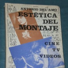 Libros de segunda mano: ESTÉTICA DEL MONTAJE. Lote 28545892
