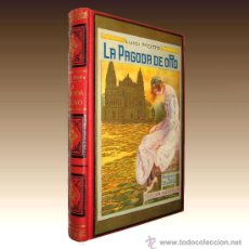 Libros de segunda mano: COLECCIONA LAS PORTADAS MAS BELLAS LUIGI MOTTA - LA PAGODA DE ORO. Lote 28584807
