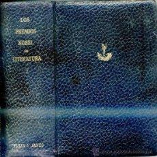 Libros de segunda mano: LOS PREMIOS NOBEL DE LITERATURA TOMO I -¡1933 PÁGINAS!. Lote 31397469