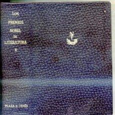 Libros de segunda mano: LOS PREMIOS NOBEL DE LITERATURA TOMO X -¡1672 PÁGINAS! MIJAIL CHOLOJOV : EL DON APACIBLE. Lote 28611424