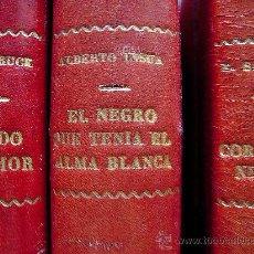 Libros de segunda mano: EL NEGRO QUE TENÍA EL ALMA BLANCA - ALBERTO INSUA, 1926. EDICIÓN NOVELA MUNDIAL. .. Lote 28644655