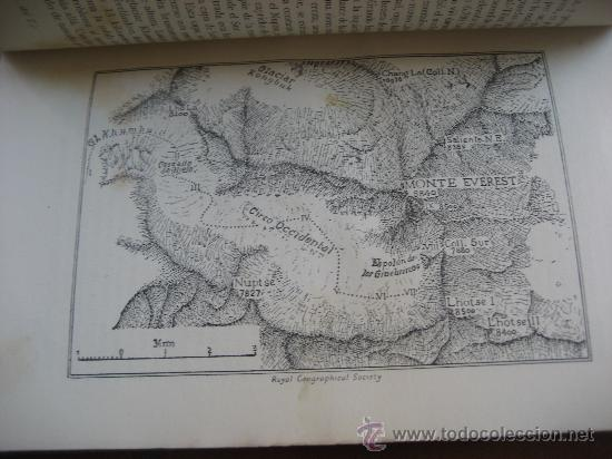 Libros de segunda mano: La Ascension al Everest. Sir John Hunt. Coleccion Edelweis. Ed. Juventud. 1ª Edicion. 1953 - Foto 4 - 28671953