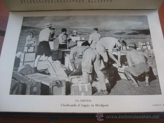 Libros de segunda mano: La Ascension al Everest. Sir John Hunt. Coleccion Edelweis. Ed. Juventud. 1ª Edicion. 1953 - Foto 5 - 28671953