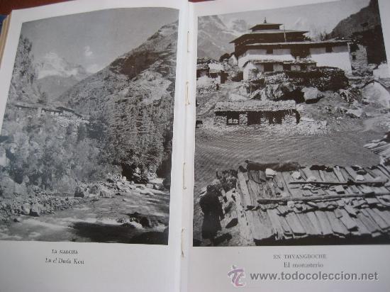 Libros de segunda mano: La Ascension al Everest. Sir John Hunt. Coleccion Edelweis. Ed. Juventud. 1ª Edicion. 1953 - Foto 6 - 28671953