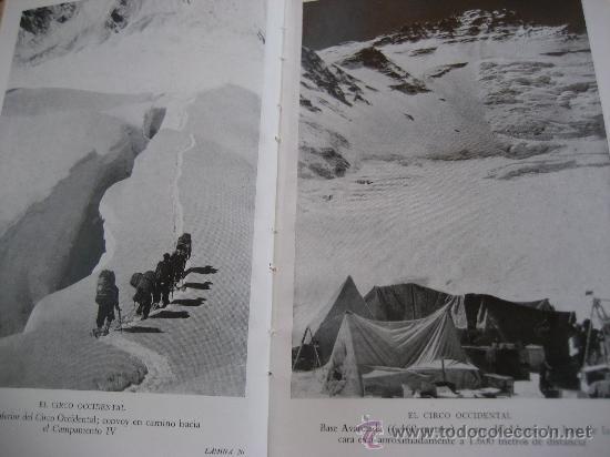 Libros de segunda mano: La Ascension al Everest. Sir John Hunt. Coleccion Edelweis. Ed. Juventud. 1ª Edicion. 1953 - Foto 7 - 28671953