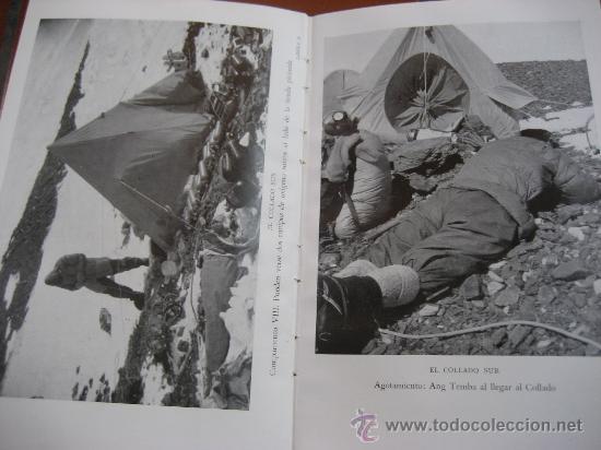 Libros de segunda mano: La Ascension al Everest. Sir John Hunt. Coleccion Edelweis. Ed. Juventud. 1ª Edicion. 1953 - Foto 8 - 28671953