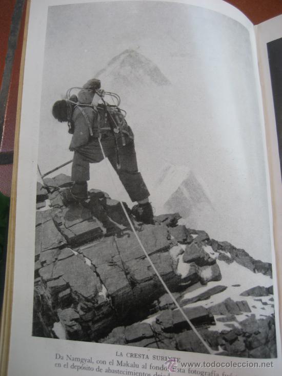 Libros de segunda mano: La Ascension al Everest. Sir John Hunt. Coleccion Edelweis. Ed. Juventud. 1ª Edicion. 1953 - Foto 9 - 28671953