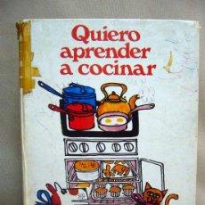 libro quiero aprender a cocinar cocina para n comprar