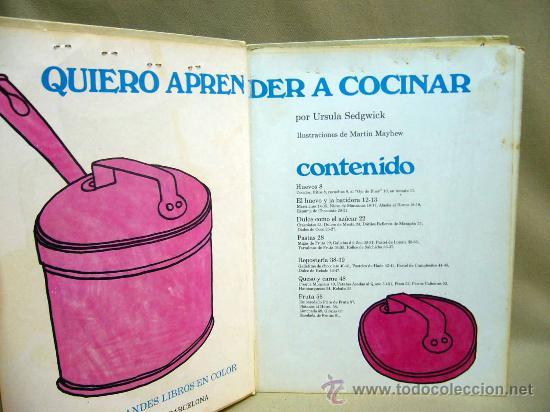 Libro quiero aprender a cocinar cocina para n comprar - Aprender a cocinar ...
