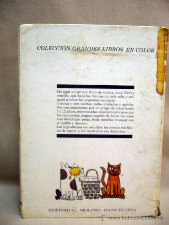 Libro quiero aprender a cocinar cocina para n comprar en todocoleccion 28686672 - Libros de cocina para ninos ...