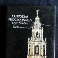 Libros de segunda mano: CUSTODIOS PRECESIONALES EN ESPAÑA. CARL HERNAMARCK.MNºCULTURA. 1987 301. Lote 28786938