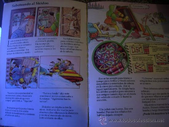 Libros de segunda mano: LAS AVENTURAS ARTICAS DEL AGENTE ARTHUR, por Martin Oliver - LUMEN - Argentina - 2004 - Foto 2 - 28907353