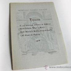 Second hand books - LEYENDAS DE TRES PERSONAJES HISTORICOS DE SIGUENZA - SANTA LIBRADA - DOÑA BLANCA DE BORBON EL DONCEL - 28940202